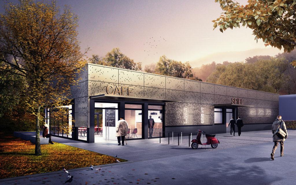 Gewerbehalle mit Cafe SHF Freiburg