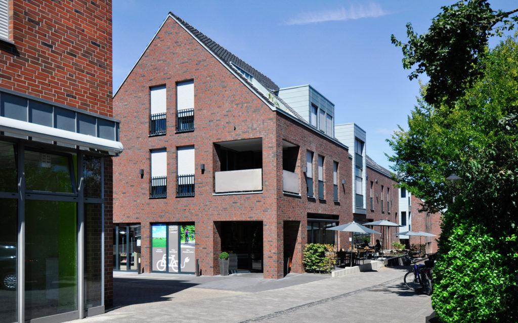Gastronomiegebäude, Havixbeck (Wohn- und Geschäftshäuser).