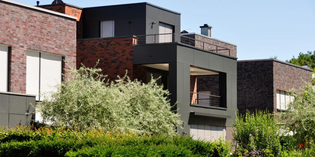 Beispiel einer Wohnraumerweiterung durch Hausanbau