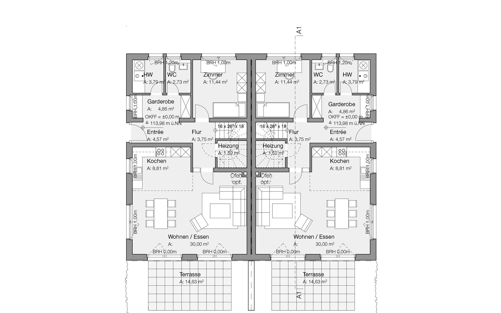 GGS_SteinwegClausArchitekten_Doppelhaus_Beckum_WDVS_00001_Erdgeschoss