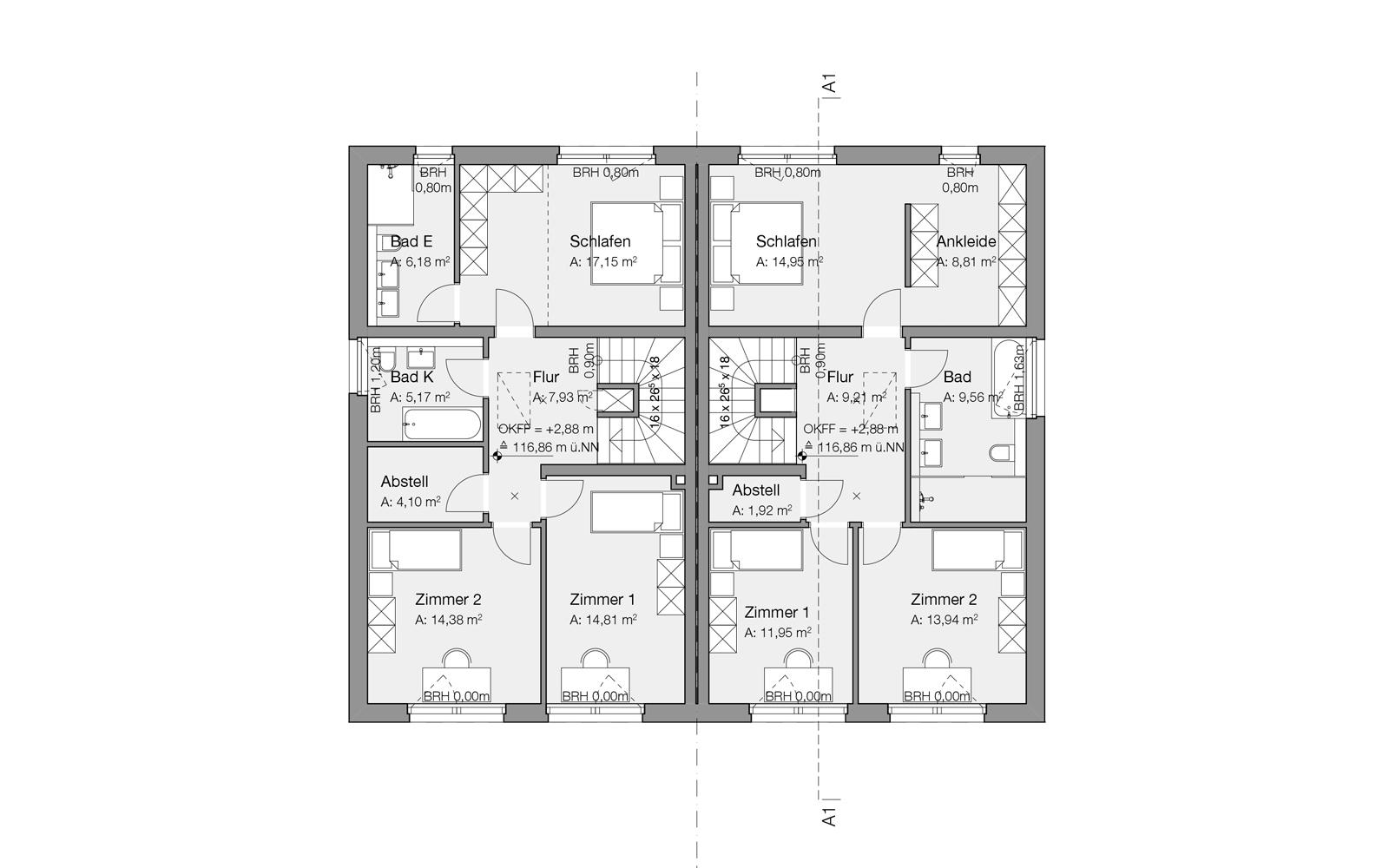 GGS_SteinwegClausArchitekten_Doppelhaus_Beckum_WDVS_00002_Obergeschoss
