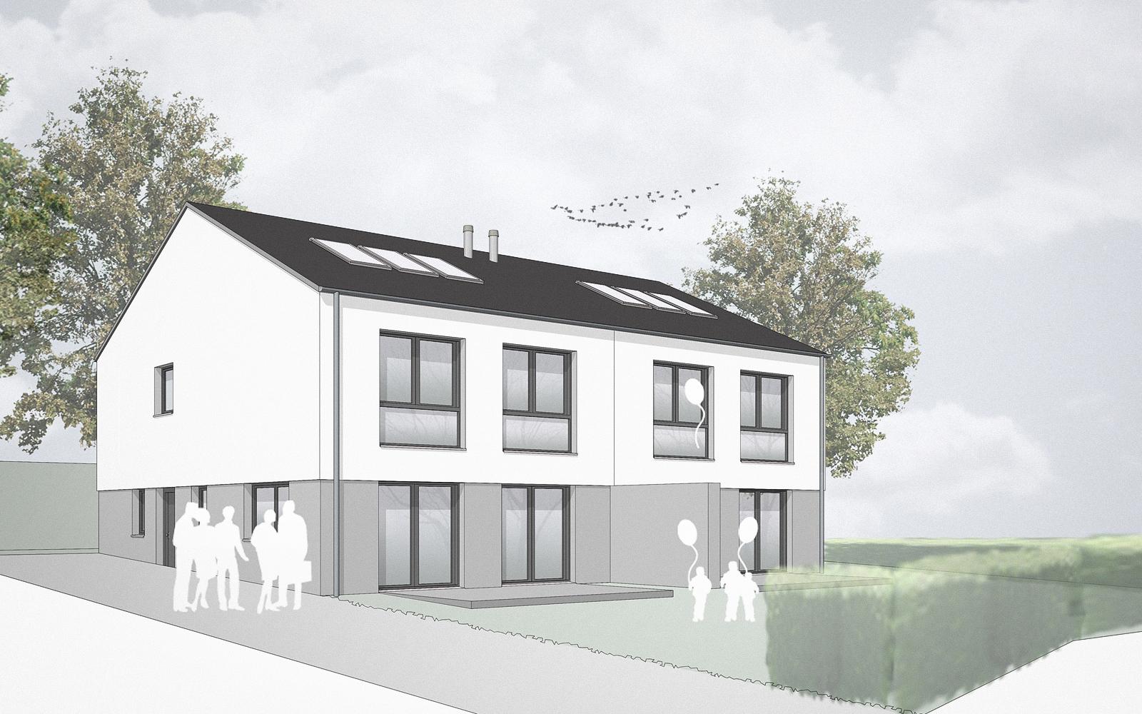 GGS_SteinwegClausArchitekten_Doppelhaus_Beckum_WDVS_00003_Perspektive
