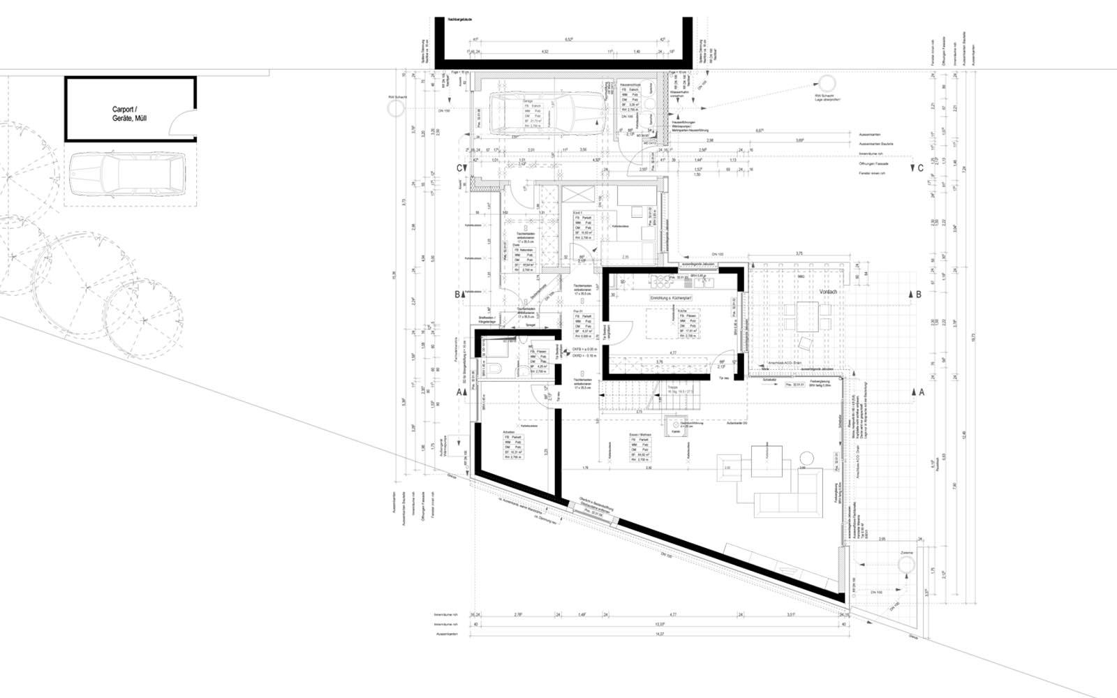 Einfamilienhaus_Koeln_Umbau_Aufstockung_Holzbau_Grundriss_Steinweg_Claus_Architekten