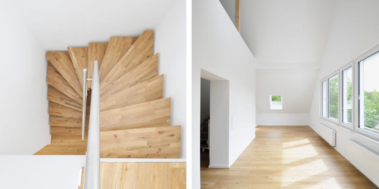 Mehrfamilienhaus_Muenster_Anbau_Holztreppe_Maisonette_Steinweg_Claus_Architekten