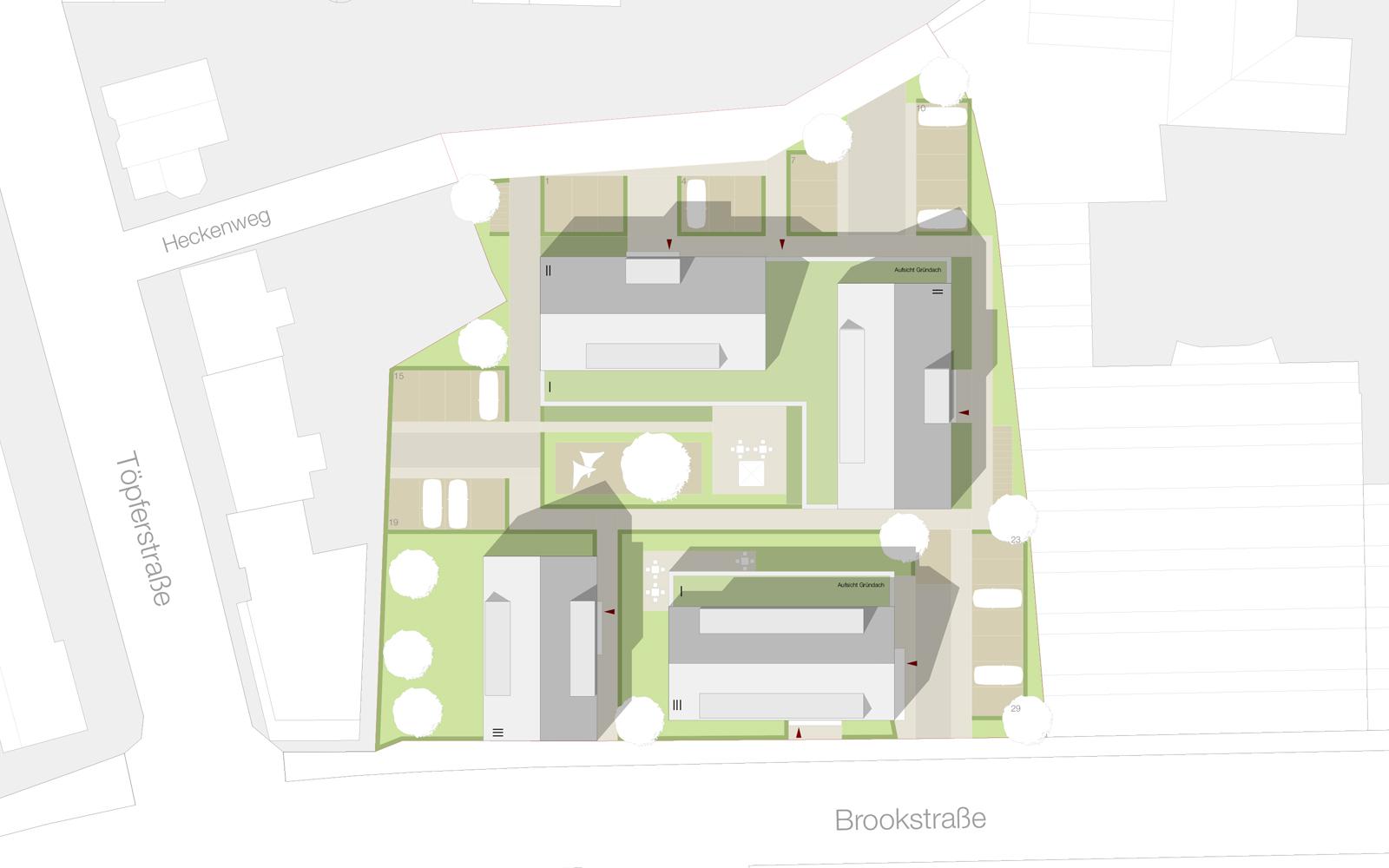 Entwurf Quartier Brookstraße