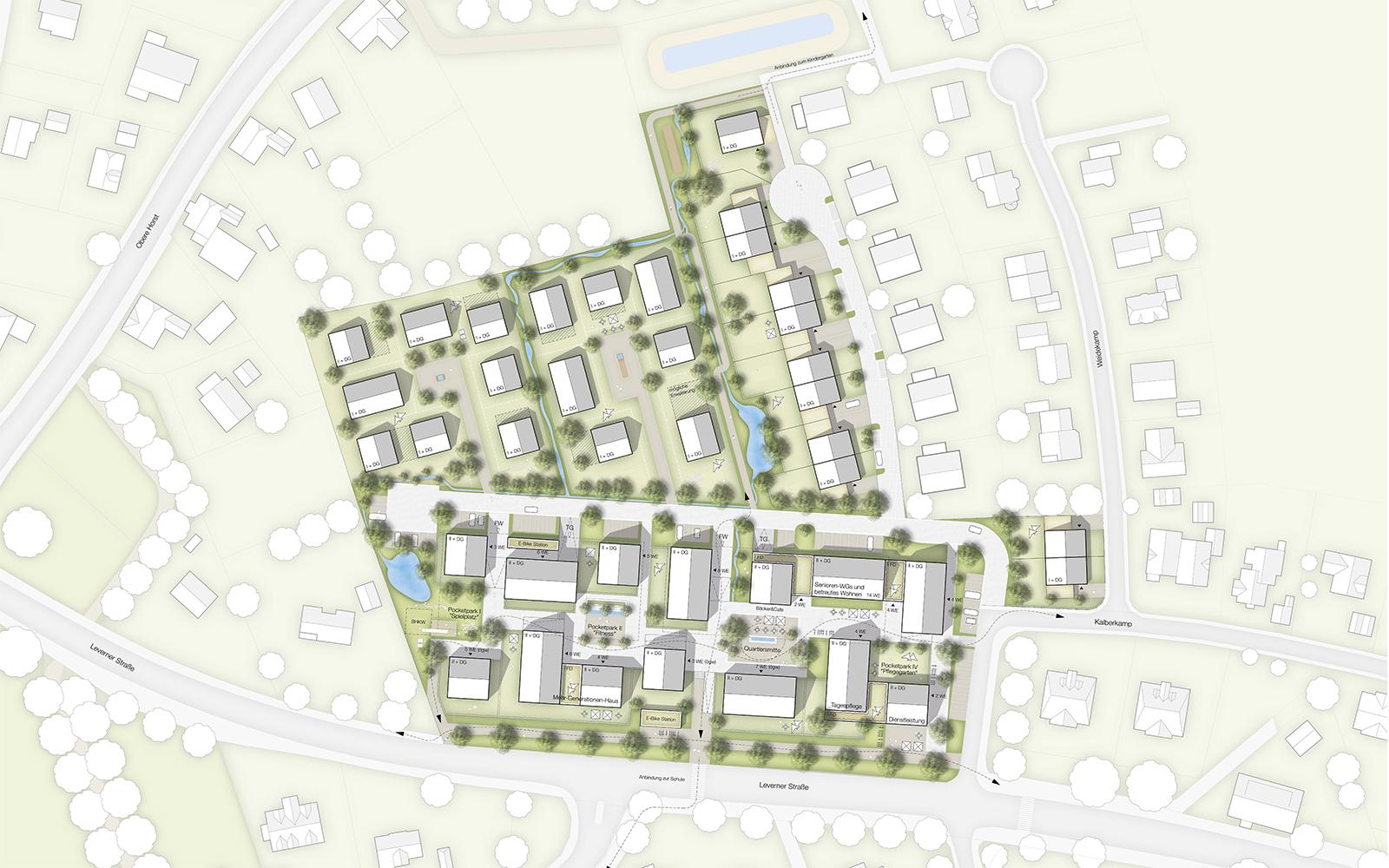 Wettbewerb Stemmende Lageplan_Steinweg Claus Architekten