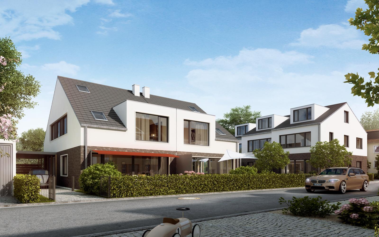 Einfamilienhaus Doppelhaus Reihenhaus Köln Steinweg Claus Architekten